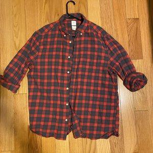 Retro flannel shirt